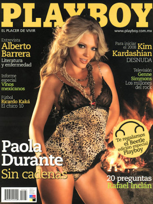 Playboy Mexico - Jan 2008