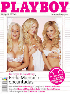 Playboy Mexico - Feb 2008