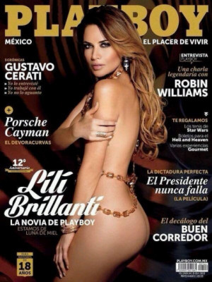 Playboy Mexico - Oct 2014