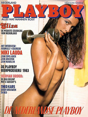 Playboy Netherlands - Aug 1983