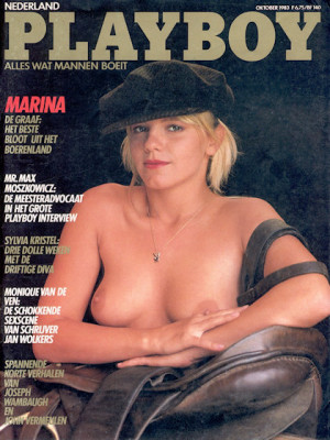 Playboy Netherlands - Oct 1983