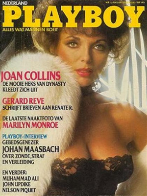 Playboy Netherlands - Jan 1984