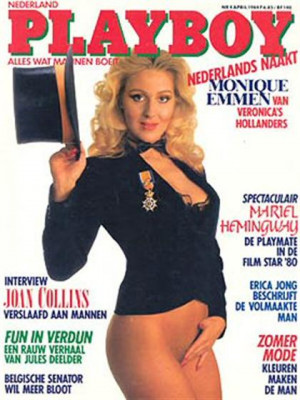 Playboy Netherlands - Apr 1984