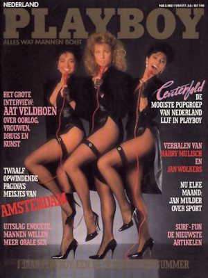 Playboy Netherlands - May 1984