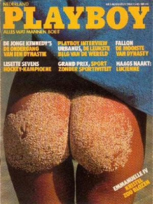 Playboy Netherlands - Aug 1984