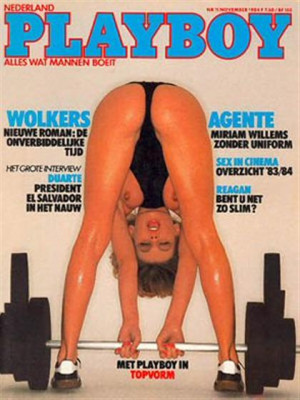 Playboy Netherlands - Nov 1984