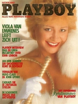 Playboy Netherlands - Dec 1984