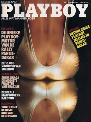 Playboy Netherlands - Jan 1985