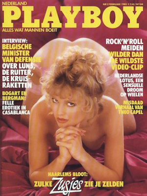 Playboy Netherlands - Feb 1985