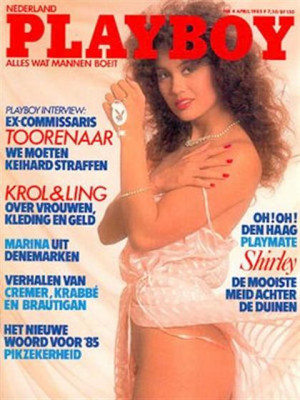 Playboy Netherlands - Apr 1985