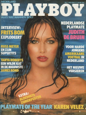 Playboy Netherlands - Jul 1985