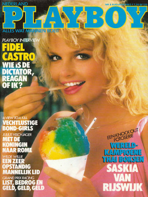 Playboy Netherlands - Aug 1985