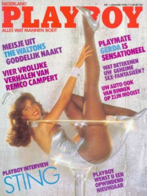 Playboy Netherlands - Jan 1986