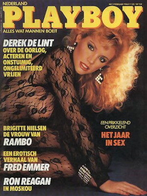 Playboy Netherlands - Feb 1986