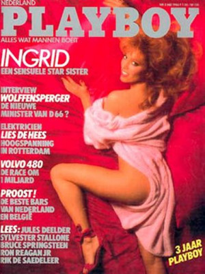 Playboy Netherlands - May 1986