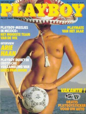 Playboy Netherlands - Jun 1986
