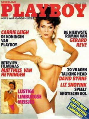 Playboy Netherlands - Sep 1986