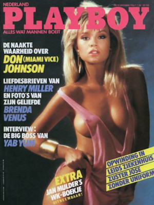Playboy Netherlands - Oct 1986