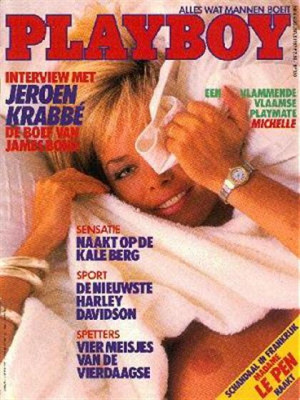 Playboy Netherlands - Aug 1987