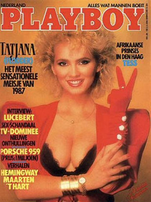 Playboy Netherlands - Dec 1987