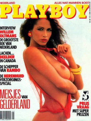 Playboy Netherlands - Aug 1988