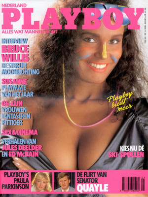 Playboy Netherlands - Nov 1988