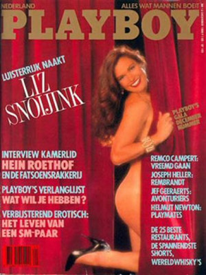 Playboy Netherlands - Dec 1988