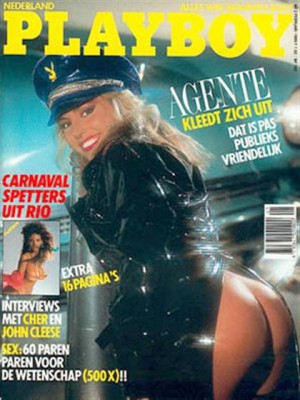 Playboy Netherlands - Feb 1989