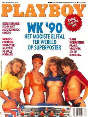 Playboy Netherlands - Jul 1990