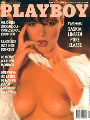 Playboy Netherlands - Aug 1990