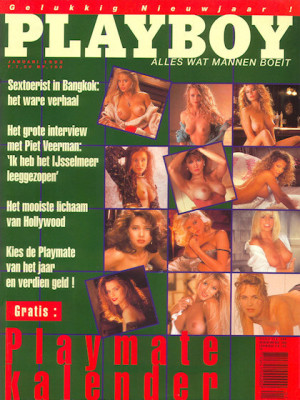Playboy Netherlands - Jan 1993