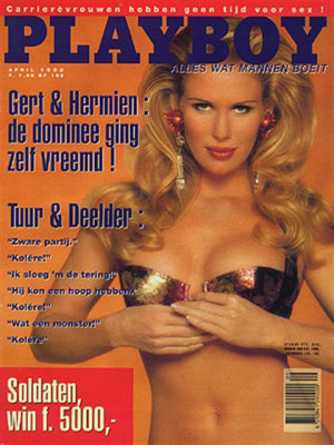 Playboy Netherlands - Apr 199393