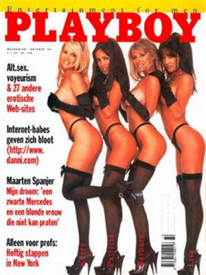 Playboy Netherlands - Oct 1996