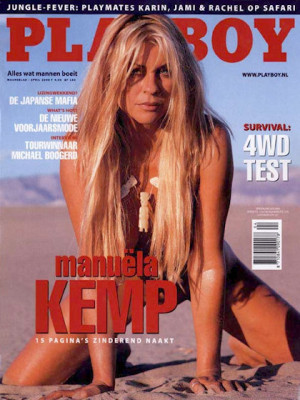 Playboy Netherlands - Apr 2000