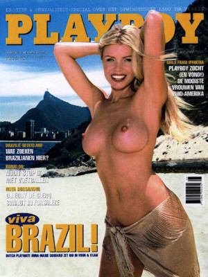 Playboy Netherlands - Aug 2001