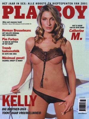 Playboy Netherlands - Feb 2002