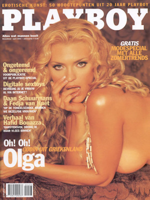 Playboy Netherlands - Apr 2003