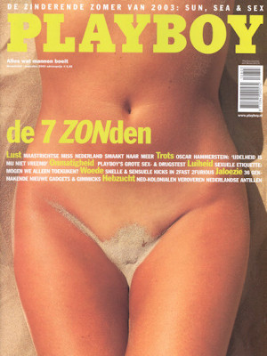 Playboy Netherlands - Aug 2003