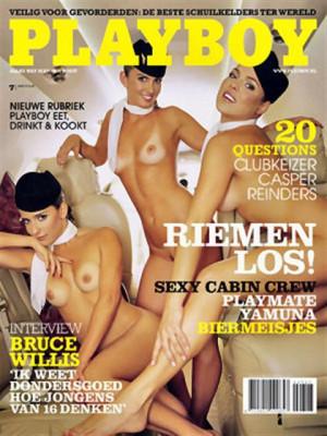 Playboy Netherlands - Jul 2007