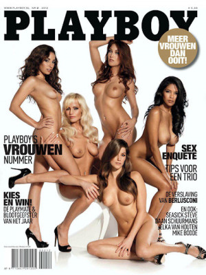 Playboy Netherlands - Feb 201212