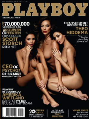 Playboy Netherlands - Apr 2014