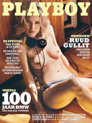 Playboy Netherlands - October 2016