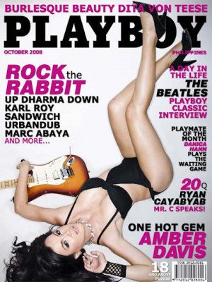 Playboy Philippines - Oct 2008