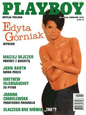 Playboy Poland - April 1998