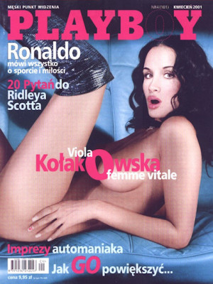 Playboy Poland - April 2001