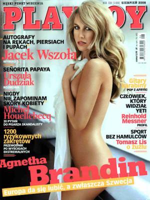 Playboy Poland - August 2008
