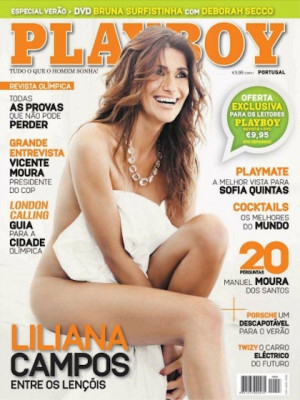 Playboy Portugal - Aug 2012