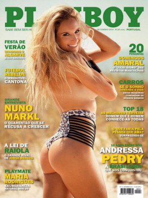 Playboy Portugal - Sep 2016