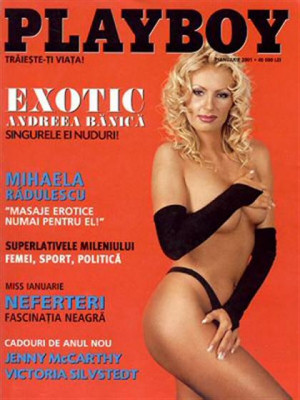 Playboy Romania - Jan 2001