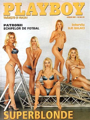 Playboy Romania - April 2001